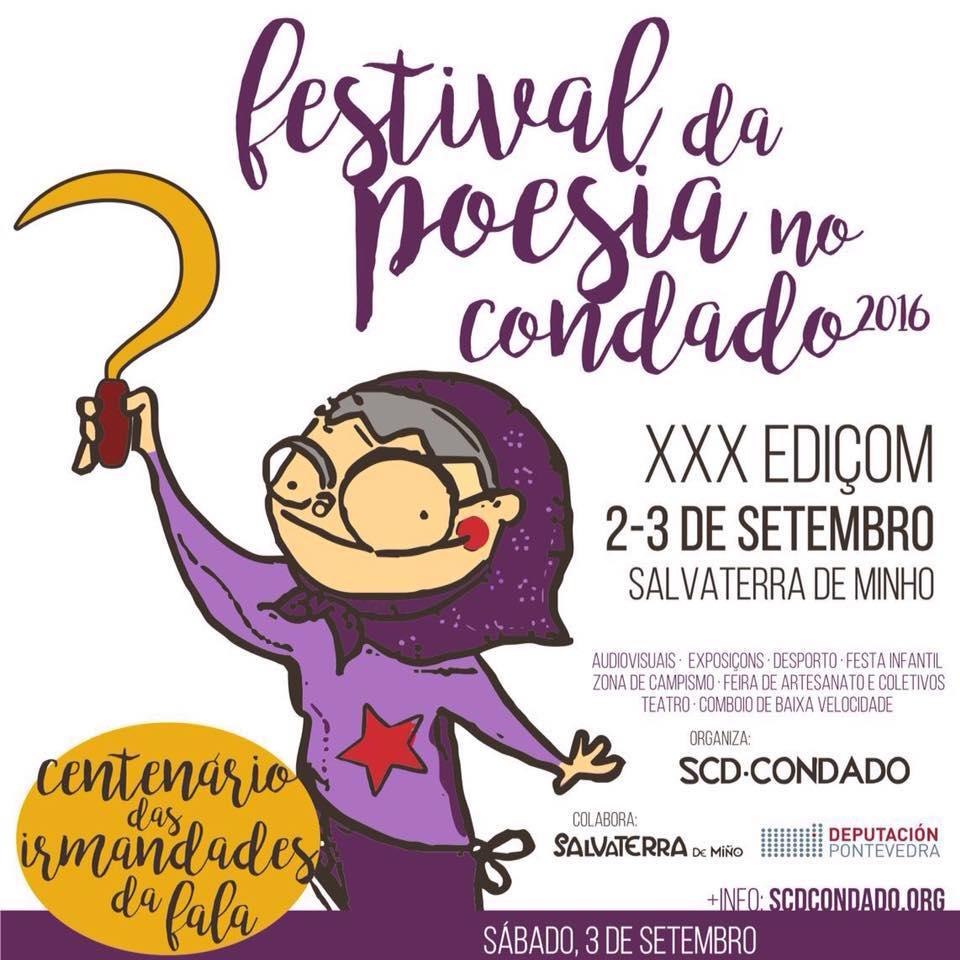 As Irmandades da Fala protagonizan o Festival de Poesía do Condado