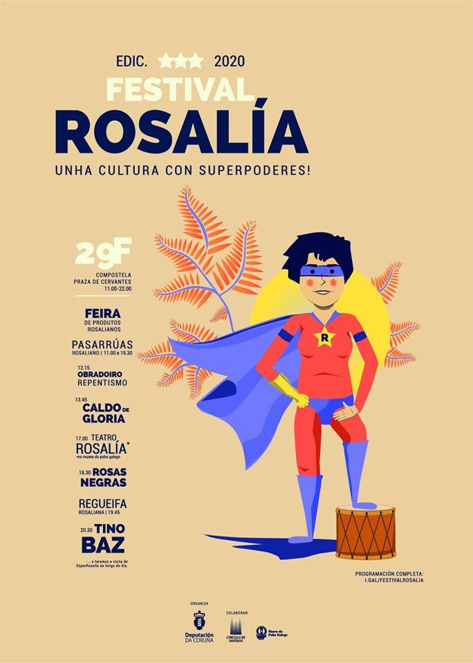 Multiplícanse as iniciativas polo Día de Rosalía