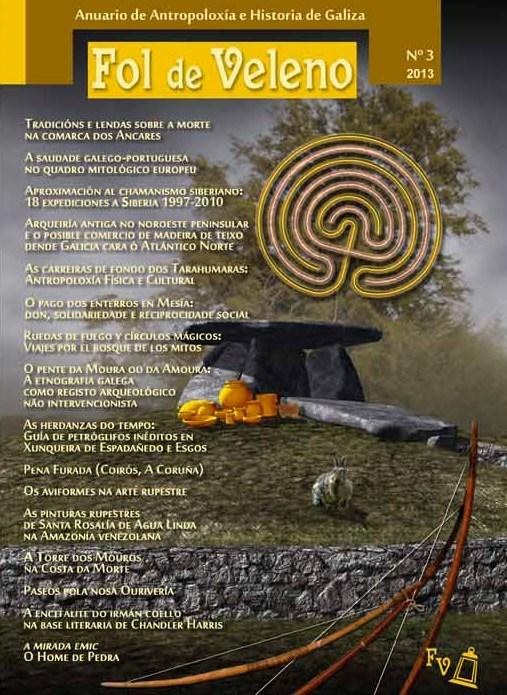 A Sociedade Antropolóxica Galega achega 16 artigos na nova entrega do seu anuario