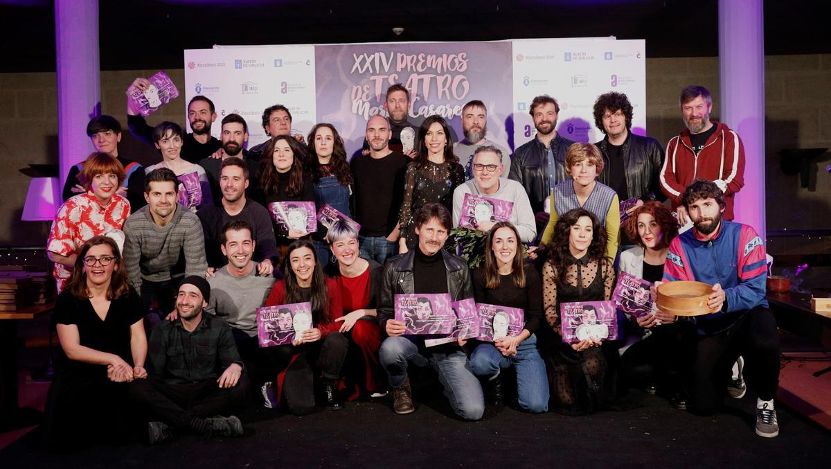 Ata 16 espectáculos competirán na fase final dos XXIV Premios de Teatro María Casares