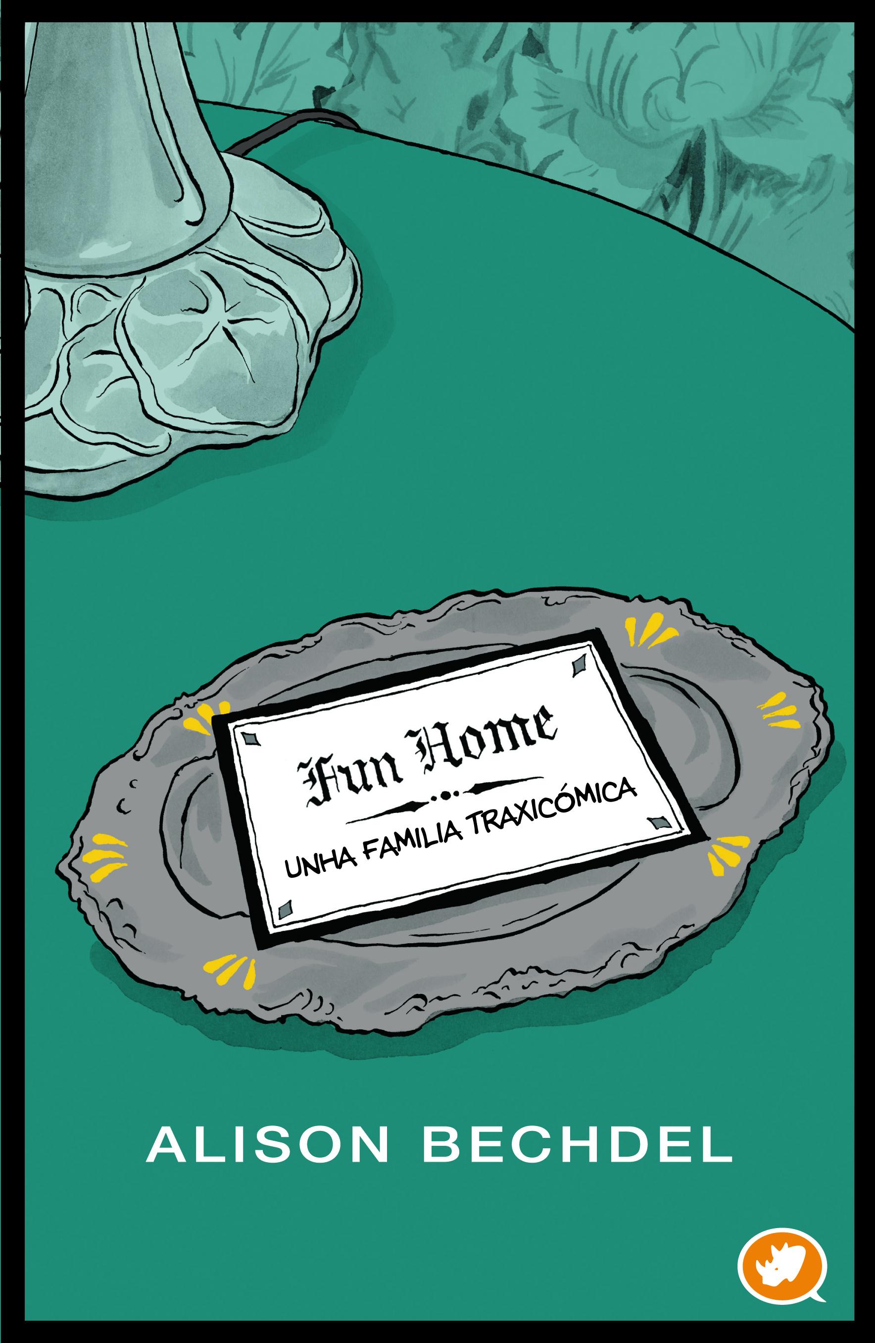 Rinoceronte editora lanza en galego <i>Fun Home</i> de Alison Bechdel