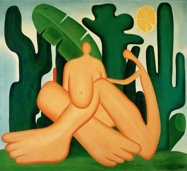 Antropofagia, Tarsila do Amaral, 1929, Pintura � Tarsila do Amaral Empreendimentos