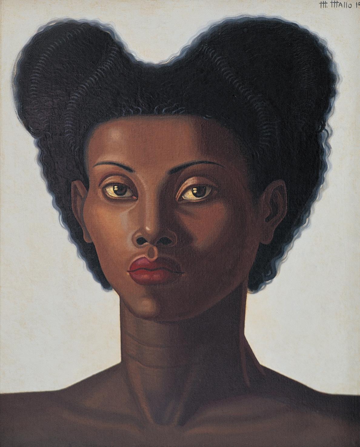 Cabeza de mujer, 1946