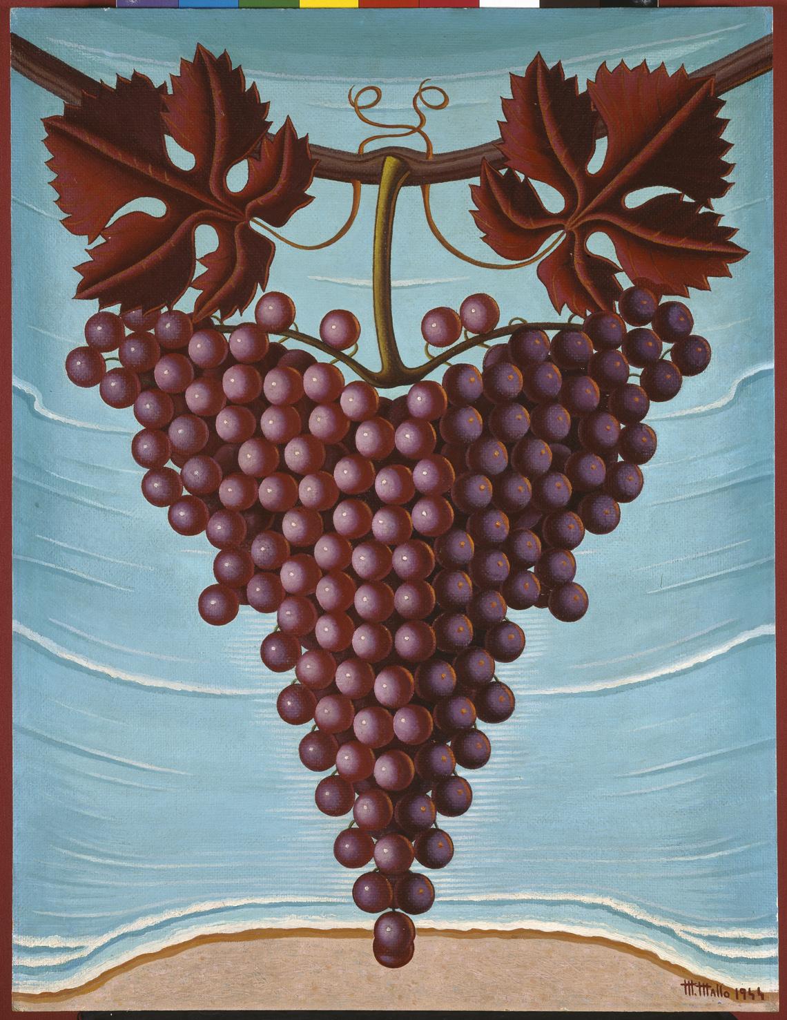 El racimo de uvas, 1944
