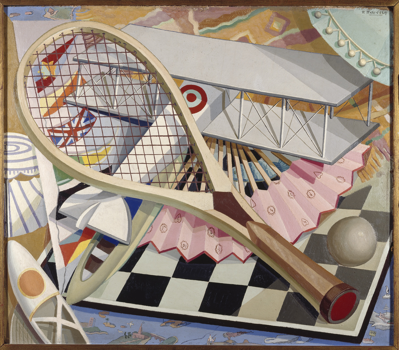 Elementos para el deporte, 1927
