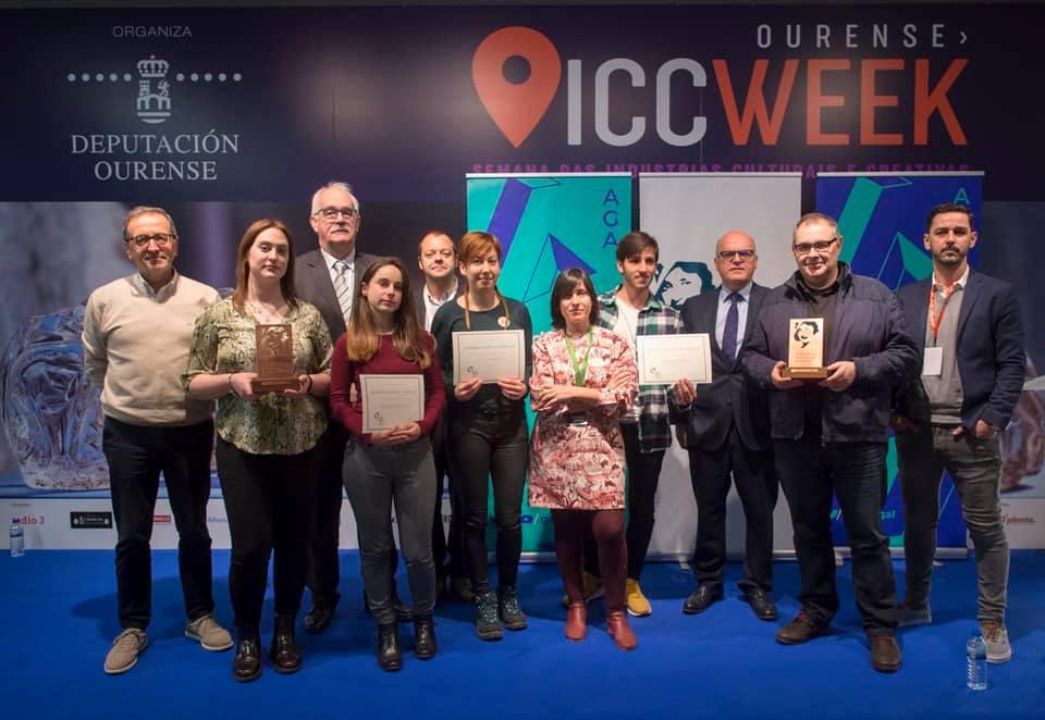 Xurxo González e Eire García viron tamén recoñecidos os seus ensaios sobre audiovisual
