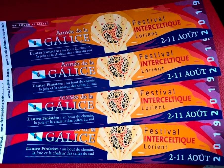 2019 será 'O ano de Galicia' no Festival Intercéltico de Lorient