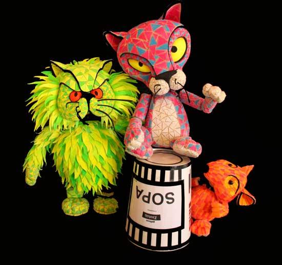 Galitoon achega o jazz aos máis pequenos a ritmo de muppets