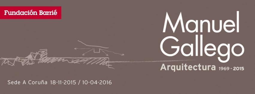 A exposición dedicada ao arquitecto poderá verse na Coruña ata o 10 de abril