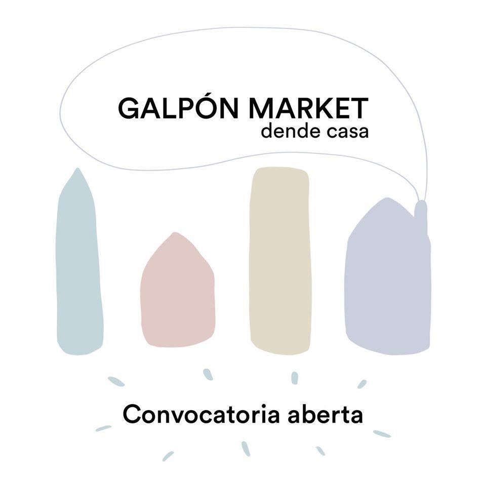 O Galpón Market convida a coñecer artistas emerxentes desde o fogar