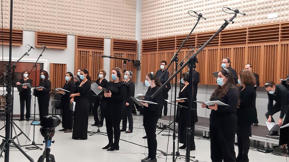 A ópera 'Orfeo e Eurídice' estrearase en Santiago coa parte de coro gravada previamente