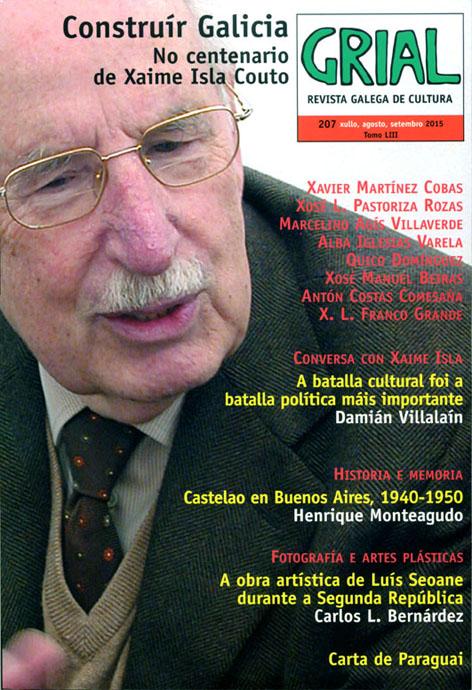 Xaime Isla Couto protagoniza a nova capa da publicación