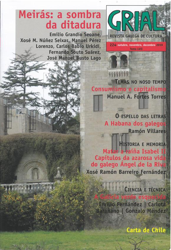 Víctor Fernández Freixanes deixa a codirección da revista