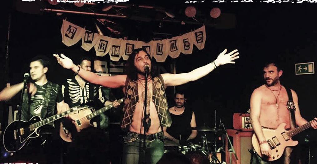 Coa xira dos jali�eiros procuraron as sensaci�ns dos primeiros concertos (2014) Cortes�a Eds. Xerais