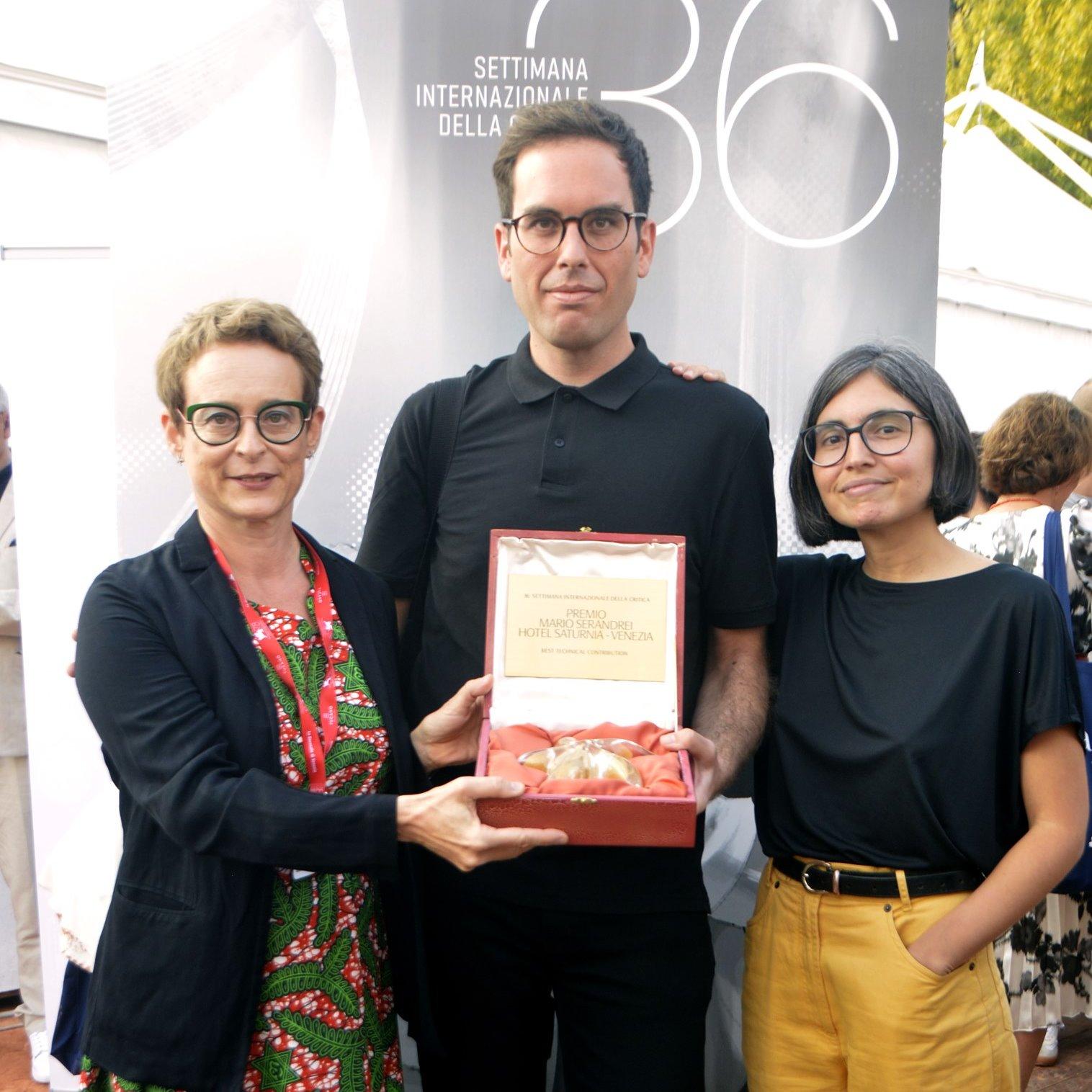 A Semana da Critica premia o filme pola súa contribución técnica