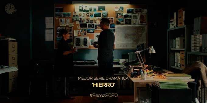 'Hierro' de Portocabo gaña o Premio Feroz á mellor serie dramática de 2019