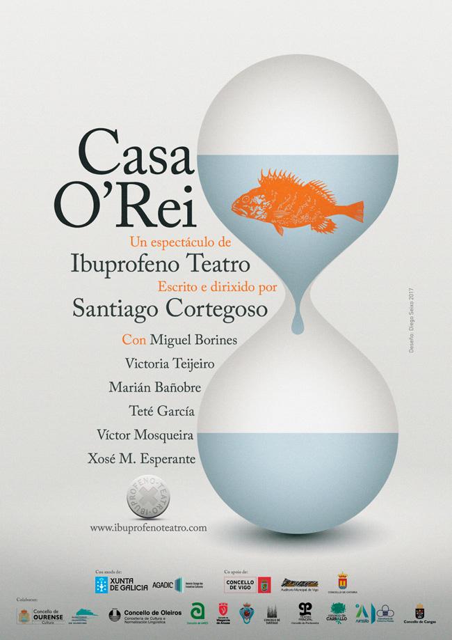 A obra escrita e dirixida pro Santiago Cortegoso estréase este venres en Vigo
