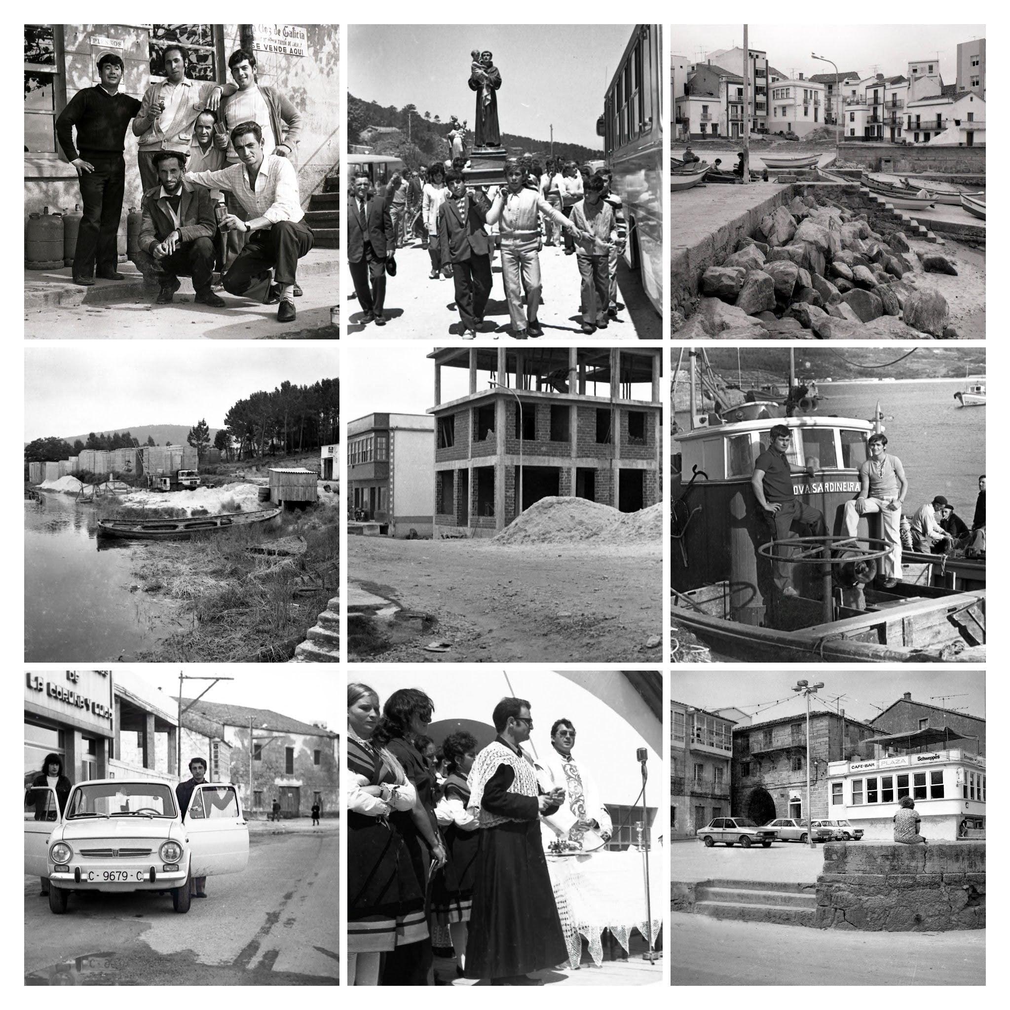 O Museo do Mar de Laxe ultima o tratamento de novas imaxes do fotógrafo local José María Vidal Eiroa