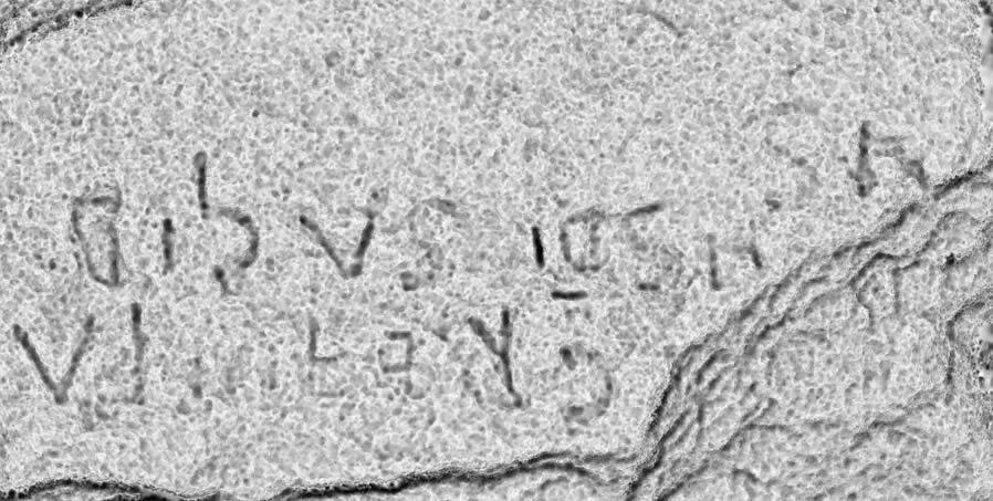 Localizan unha inscrición medieval nos inicios da nova campaña arqueolóxica en Os Conventos