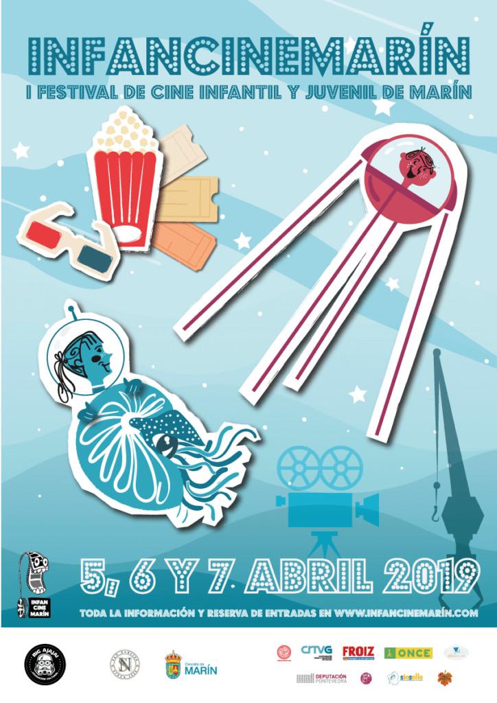 Infancinemarín celébrase do 5 ao 7 de abril con 42 curtametraxes a concurso