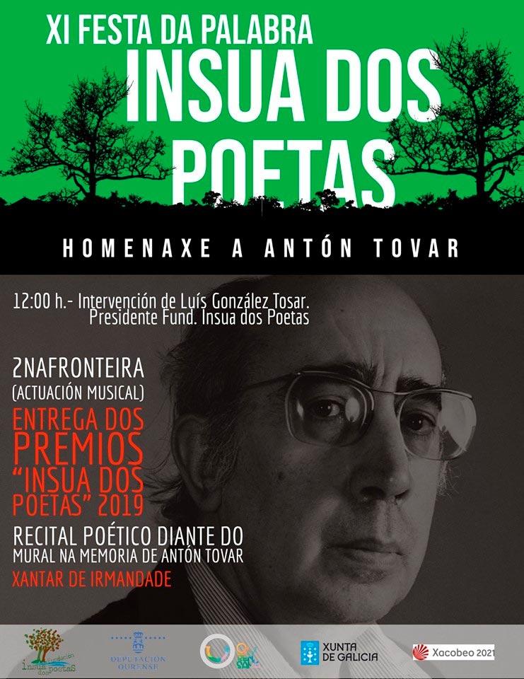 Os premios Ínsua dos Poetas premian sete traxectorias de persoas ou colectivos