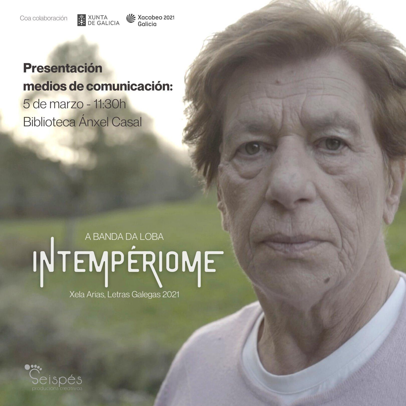 A Banda da Loba homenaxea a Xela Arias a musicar <i>Intempériome</i>