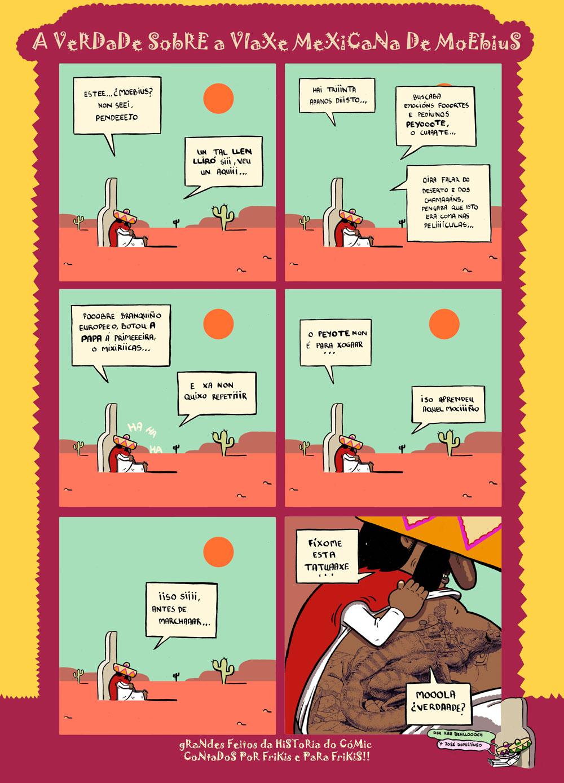 <i>A verdade sobre a viaxe mexicana de Moebius</i>, de Jos� Domingo e Kike Benlloch