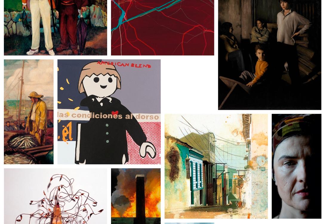 A entidade mantén na Coruña outra mostra dedicada á confluencia entre artes plásticas e música
