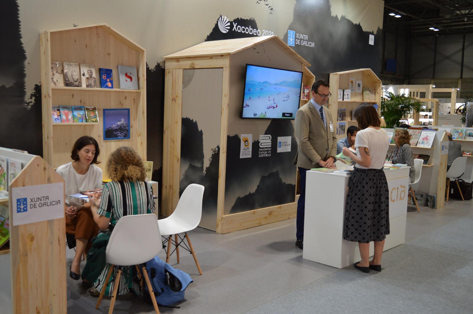 A Feira do Libro de Frankfurt contará coa presenza do mesmo número de empresas do país