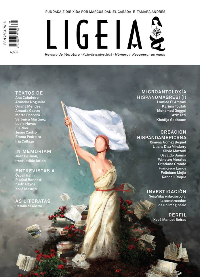 A nova revista céntrase na literatura e o xornalismo