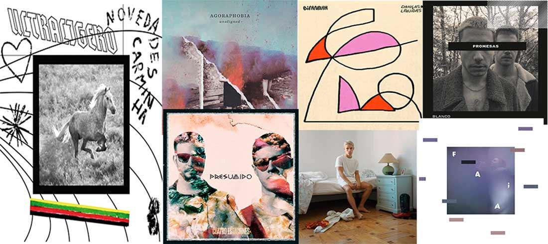 Repasamos a presenza dos discos galegos entre as listas anuais de sete medios españois