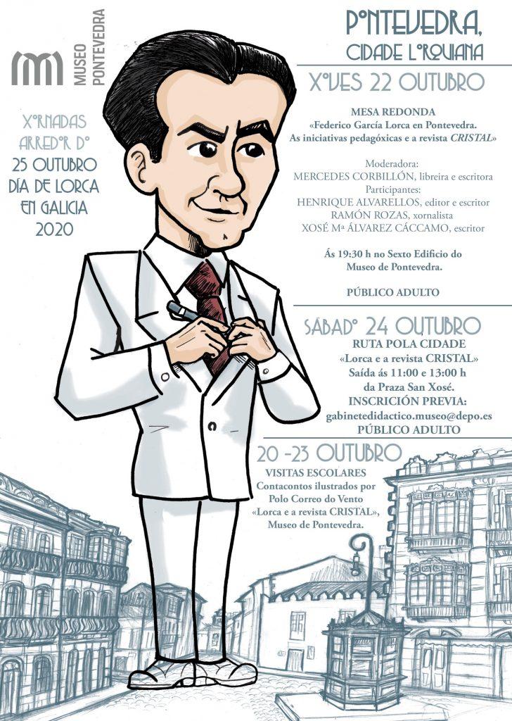 Publicacións e actividades conmemoran o Día de Lorca en Galicia