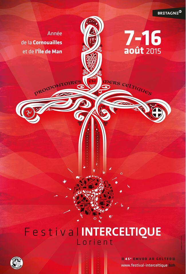 O Festival de Lorient 2015 terá unha ampla presenza galega