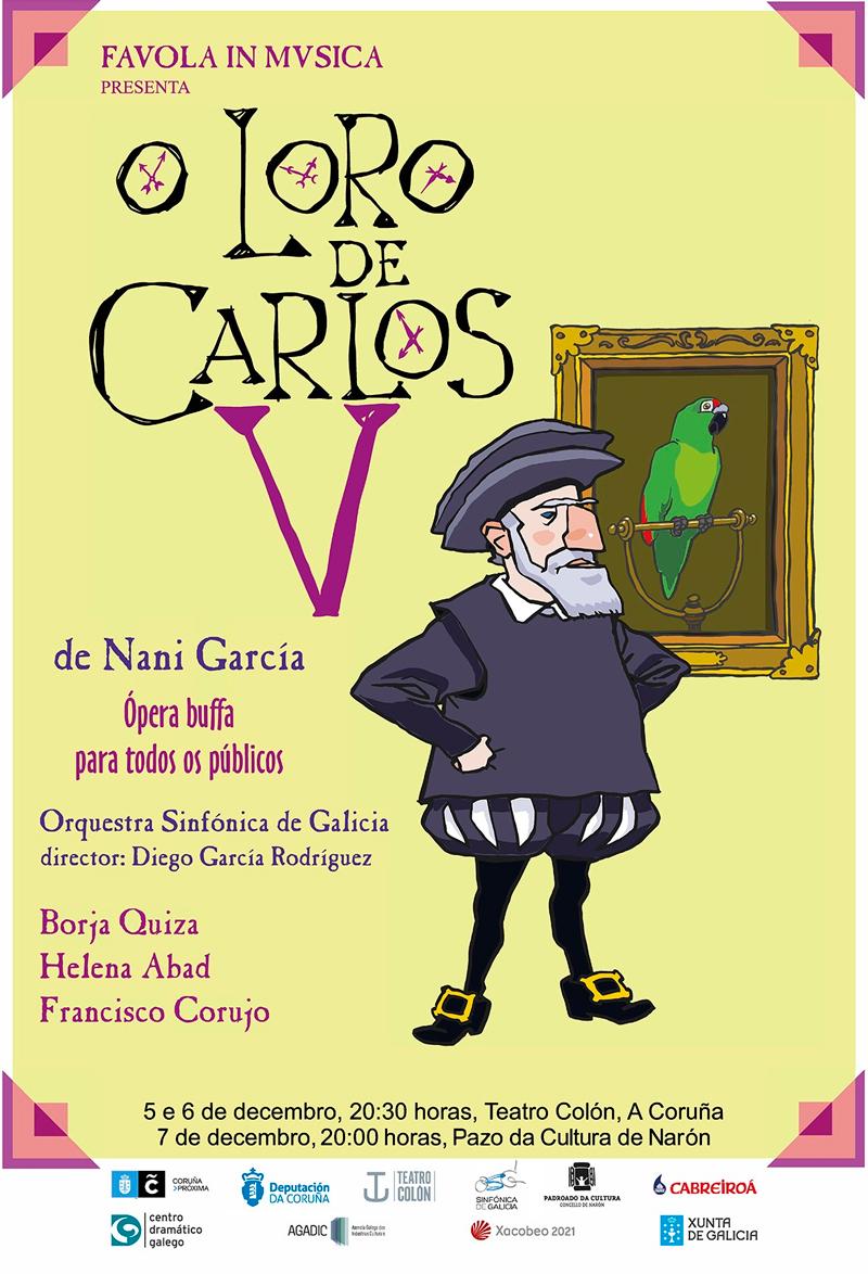 Miguelanxo Prado e Borja Quiza participan nesta primeira ópera buffa de produción galega