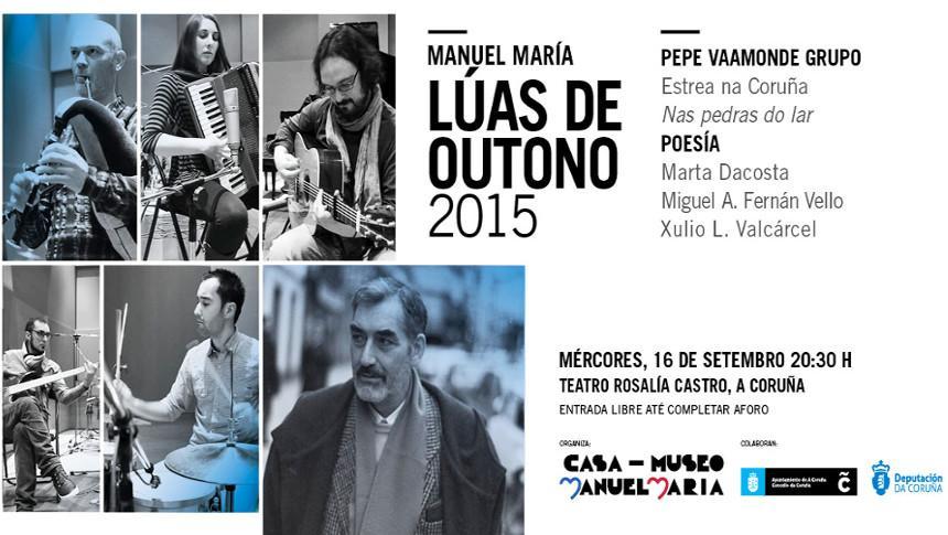 O Teatro Rosalía acolle mañá esta homenaxe ao poeta