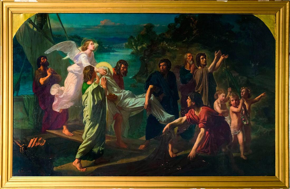 A obra de grandes dimensións estivo máis de cen anos nunha colección particular sen exhibición pública