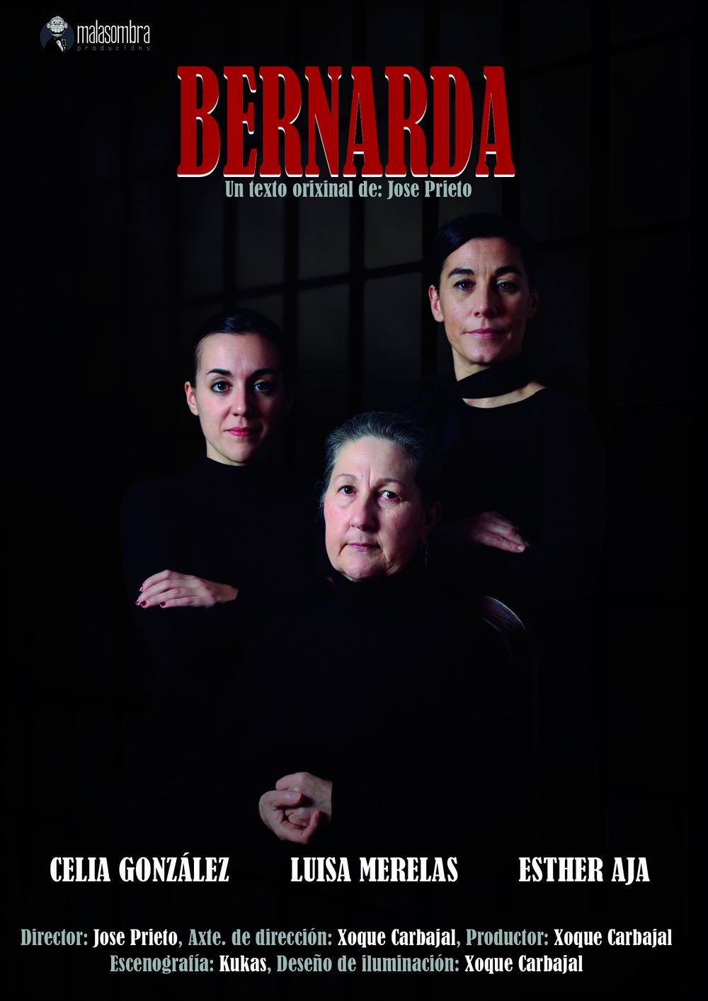 Luisa Merelas, Celia González e Esther Aja protagonizan a obra sobre un texto orixinal de Jose Prieto