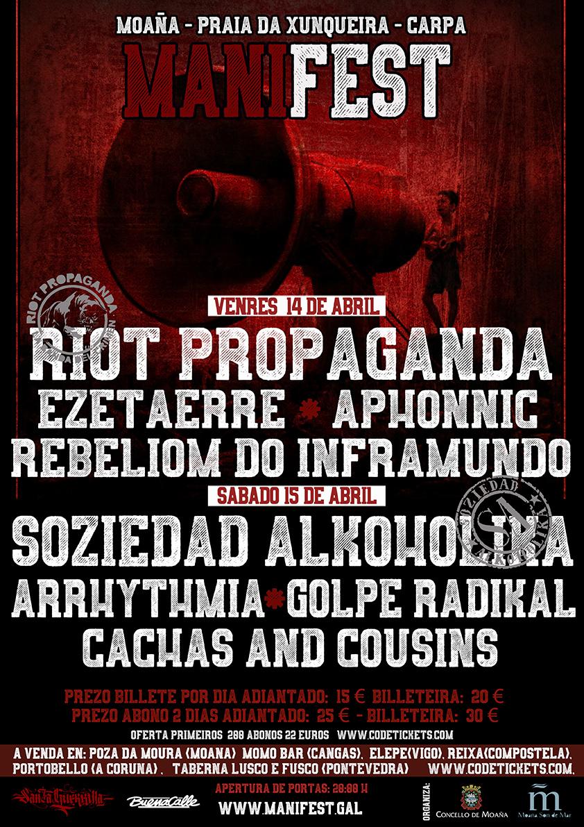 Soziedad Alkohólika, Riot Propaganda ou Ezetaerre fan parte do cartel
