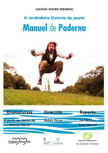 Lucecús Teatro representan a Manuel de Paderna mentres Magín e Uxía escenifican <i>Canta o cuco</i>
