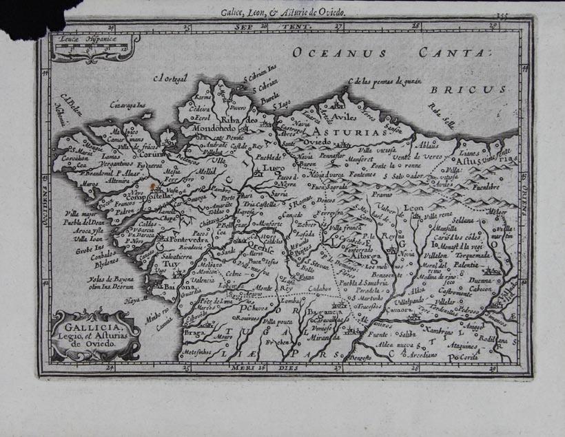 Gallicia, Legio, et Asturias de Oviedo
