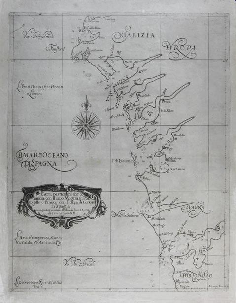 Carta particolare chi comincia con il capo Mogera in Portogallo � Finisce con il capo di Coriano in Ispagna