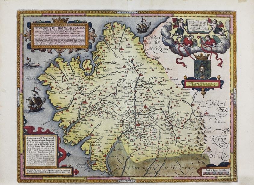 Descripcion del Reyno de Galizia