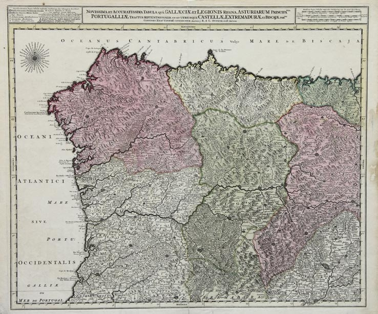 <i>Cartografía antiga de Galicia</i> recolle fondos da Biblioteca da Cidade da Cultura