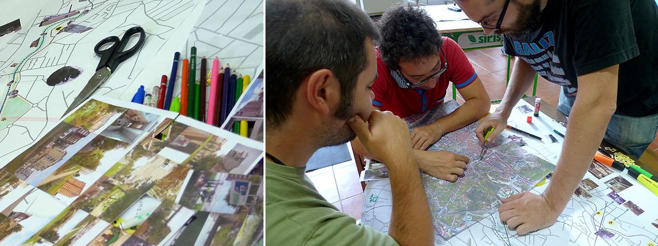 O proceso de elaboración de mapas achega múltiples posibilidades de mobilización social