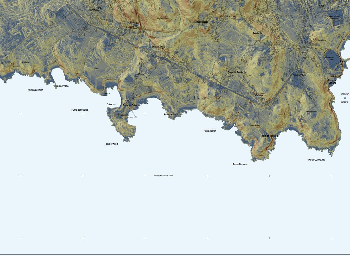 O potencial dos mapas da Xunta