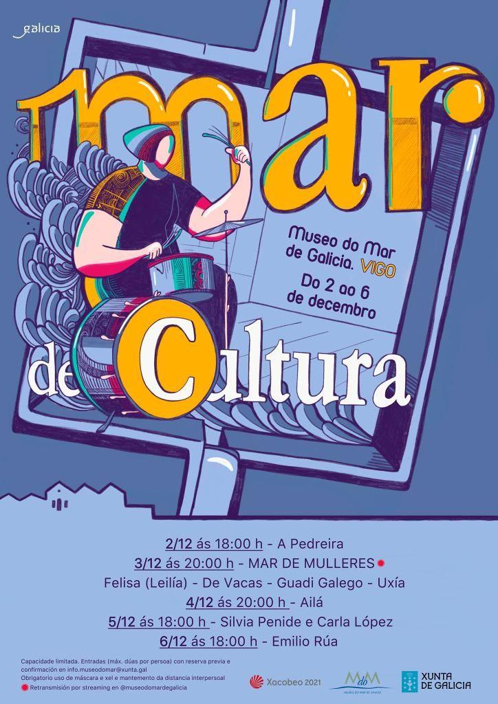 Ugia Pedreira, Guadi Galego, De Vacas, Silvia Penide ou Emilio Rúa forman parte do cartel