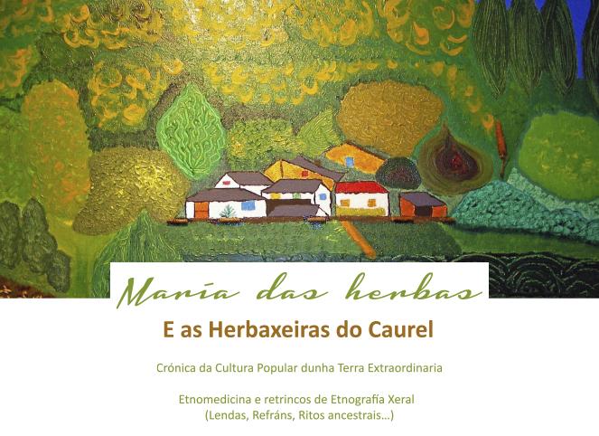 María Moure de Oteyza presenta este estudo sobre as plantas medicinais da zona