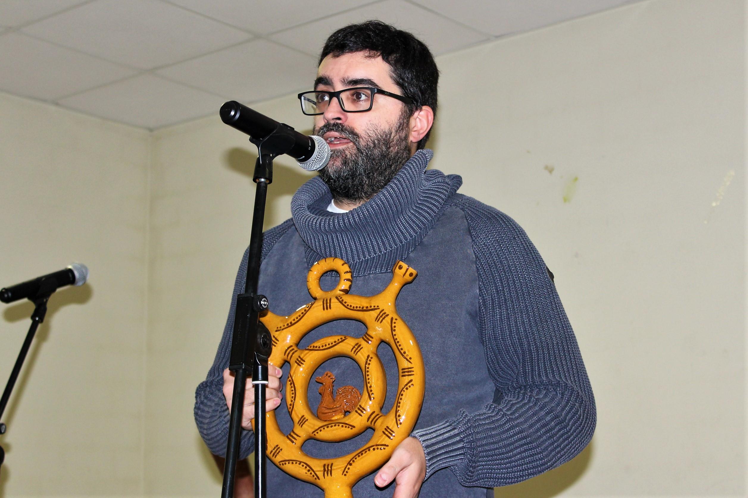 Mario Regueira faise co Premio Lueiro Rey de xornalismo