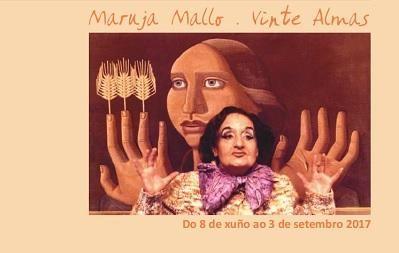 <i>Maruja Mallo. Vinte almas</i> pode verse desde hoxe ata o 3 de setembro