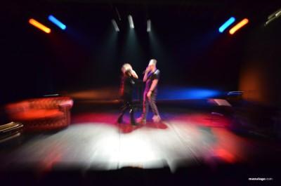O Salón Teatro acolle tres pezas que se desenvolveron no proxecto de residencias do CDG